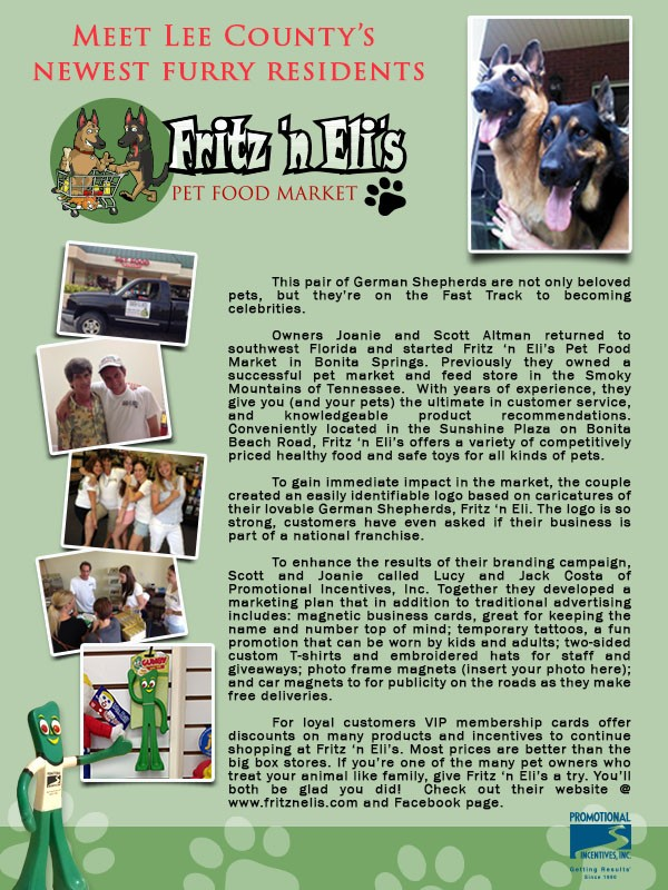 Meet our newest clients Fritz 'n Eli
