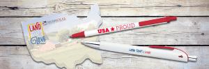 pen set on America