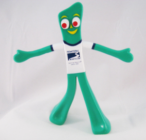 PromoGumby standing with arms out-Promotional Incentives