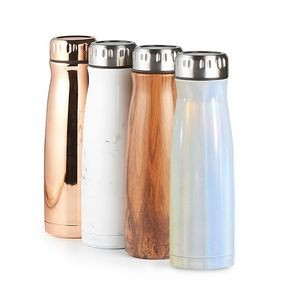 Urban 500ml/17 Oz. Urban copper insulated Vacuum Sealed Stainless Steel Double walled Bottle