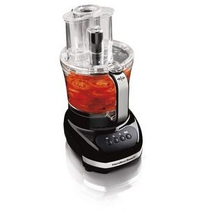 Hamilton Beach-Touch Pad Duo Food Processor