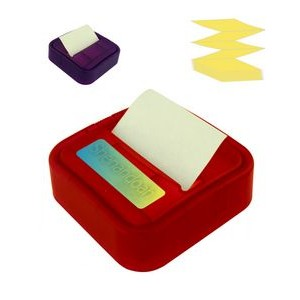 "Stick-on-Note Pad Dispenser w/ 3"" Note Pad"