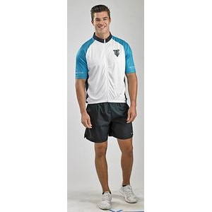 Short Sleeve Full Zip Bike Jersey