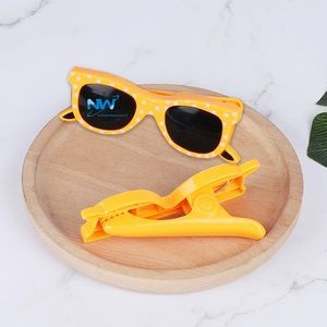 Glasses Shaped Beach Towel Clips