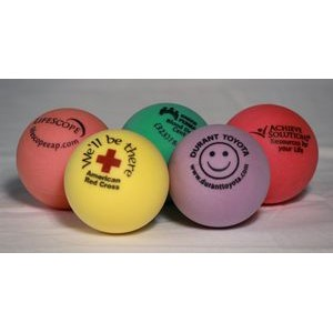 Assorted Colors Foam Round Stress Ball