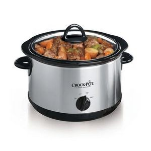 Crock-Pot® 4.5-Quart Manual Slow Cooker (Stainless Steel)