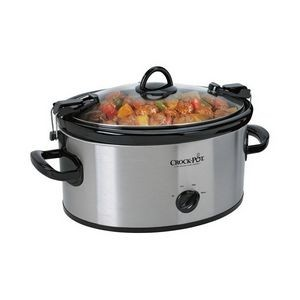 Crock-Pot® 6-Quart Cook & Carry Slow Cooker (Stainless Steel)