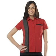 Ladies King-Pin Bowling Shirt