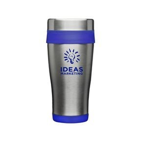 16 OZ. Grab-N-Go Insulated Stainless Steel Travel Mug ( 1 Color)