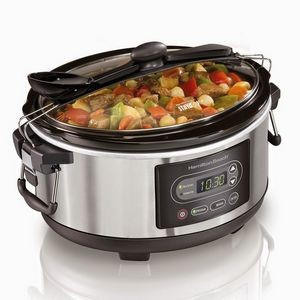 Hamilton Beach® 5 Quart Programmable Stay or Go® Slow Cooker
