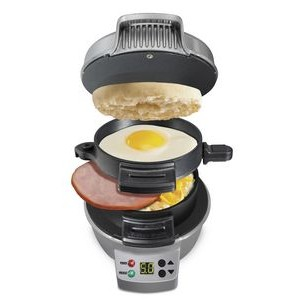 Hamilton Beach® Breakfast Sandwich Maker w/Timer