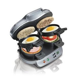 Hamilton Beach® Double Breakfast Sandwich Maker