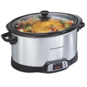 Hamilton Beach® Programmable Countdown 8 Quart Slow Cooker