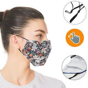 RUSH 3-Layer Face Mask w/Full Color Sublimation Safety Masks